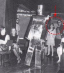 Fernando Torque y Pilar de Andrade en la HispaCon '69